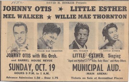 Otis_Thornton concert poster