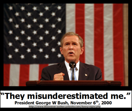 President Bush quote