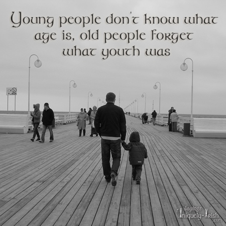 young people don't know