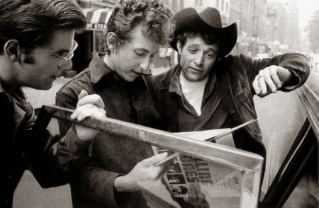 Bob Dylan & Ramblin Jack Elliott(r)