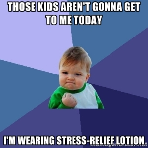 stress relief lotion