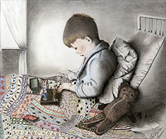 hm_Sick Little Boy_Barbara Bruce_mixed