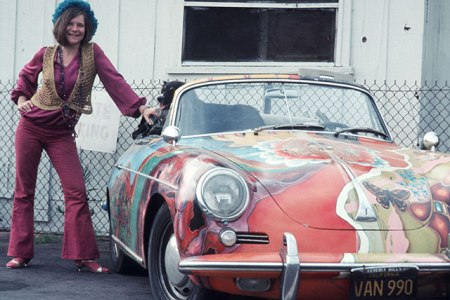 Janis-Joplin-1965-Porsche