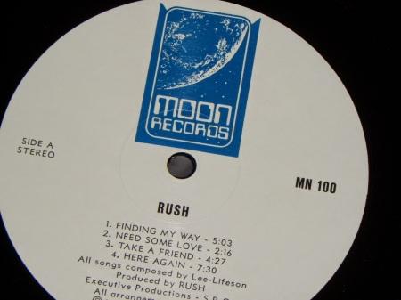 Rush on Moon