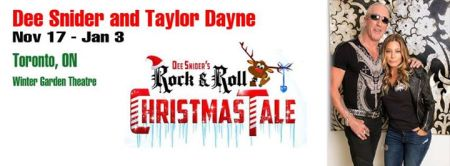 Dee Snider Christmas Tale