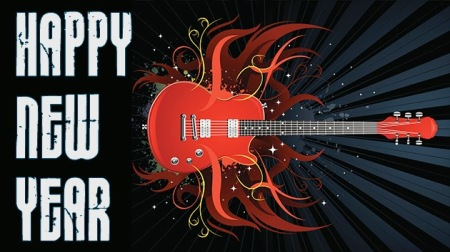 guitar happynewyear