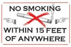 no smoking anywhere