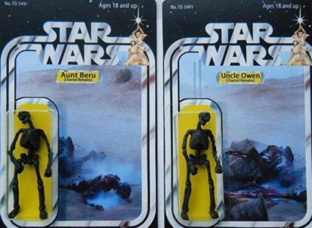 Owen and Beru Action Figures