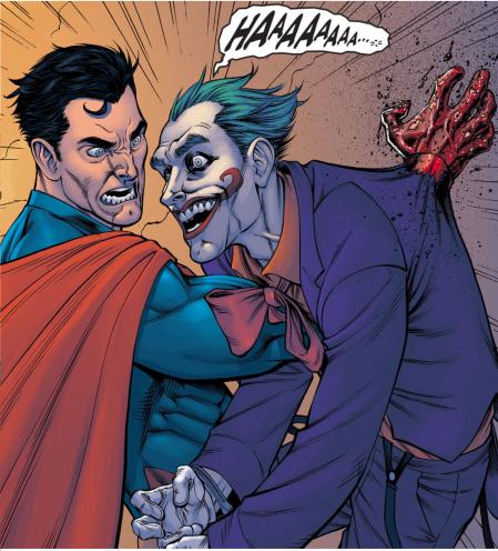 supes kills joker