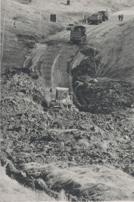 Brimley landslide