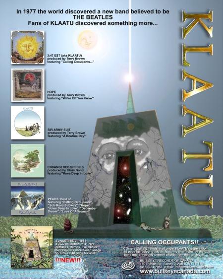 Klaatu promo art