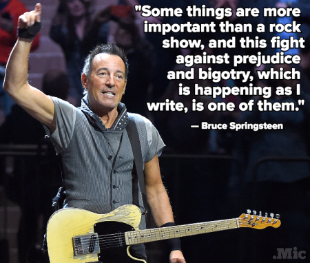 Bruce Springsteen North Carolina