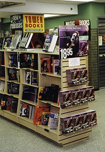 Tower Book display