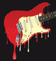 8340806-melting-electric-guitar