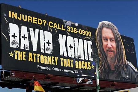 David Komie Billboard