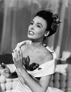 ca. 1930-1950 --- Lena Horne Singing --- Image by © John Springer Collection/CORBIS