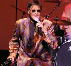 Mark Lindsay, former lead singer of Paul Revere and the Raiders, put on a benefit concert Saturday evening at the F. Richie Walton Performing Arts Center to help raise money for several community groups. Photo/Elaine Moore/emoore@ chronicle-tribune.com