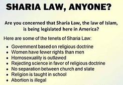 sharia law anyone