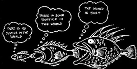 justice fishcartoon
