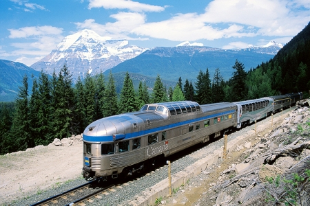 Train across Canada