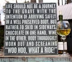 woo hoo what a ride