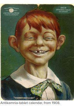Alfred calendar 1908