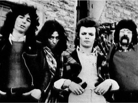"Photo of The WAckers No. 3: Left to right: Bob Segarini, Bill ""Kootch"" Trochim, Randy Bishop. Ernie Earnshaw PHOTOS: Courtesy of Bob Segarini"