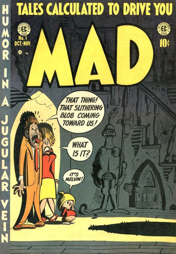Mad 1952 cover