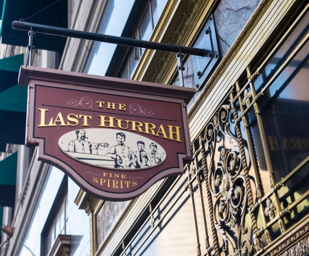 Last Hurrah bar at Omni Parker House Hotel in Boston , MA on August 21, 2013.