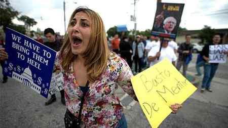 sanders-protest