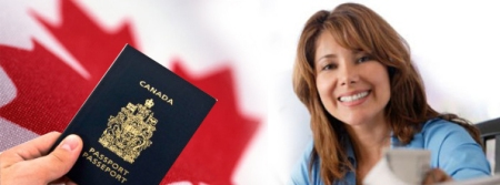 smiling-woman-getting-canadian-passport
